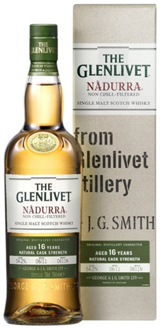 The Glenlivet Scotch Single Malt 16 Year Nadurra